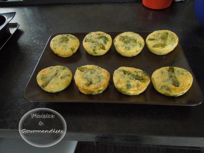 Clafoutis d'asperges vertes dans Empreintes Muffin Droit dscn0060