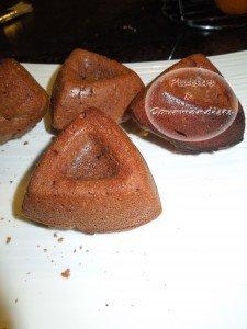 Moelleux amande et chocolat dans Empreintes Savarin saphir dscn07221-225x300