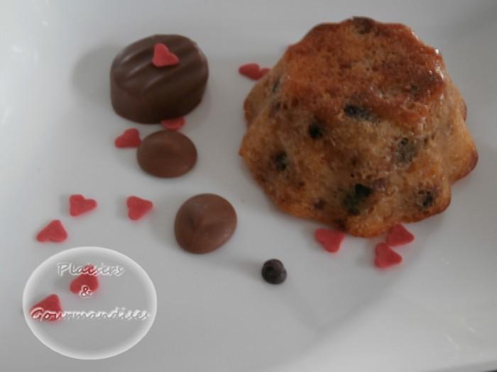 Pudding avec des restes dans Empreintes briochette p1310207