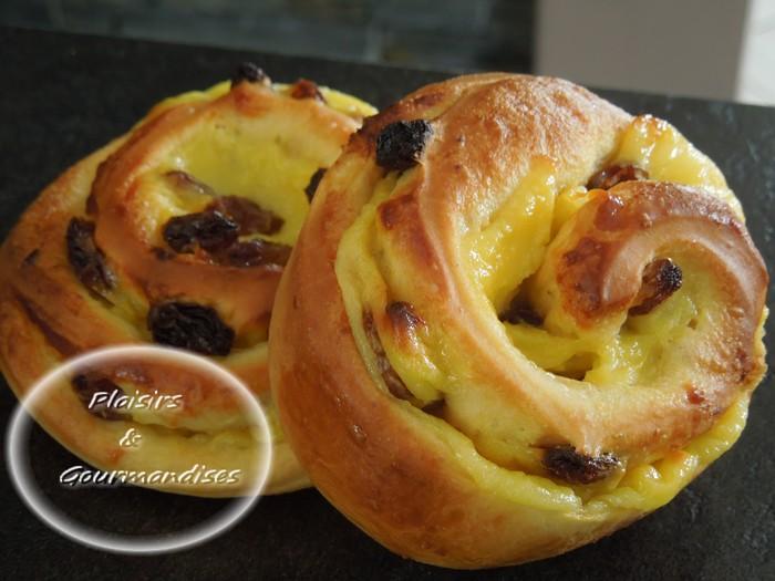 Pains aux raisins au cookin dans Cook'in dscn14281