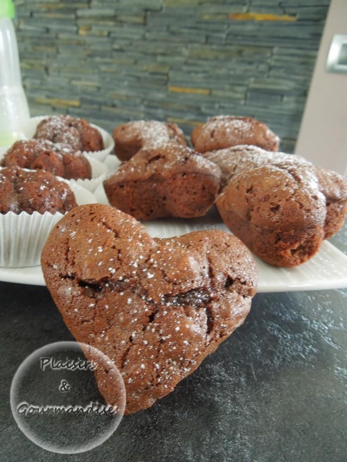 Brownies bien fondant dans Empreintes coeur profond dscn1437