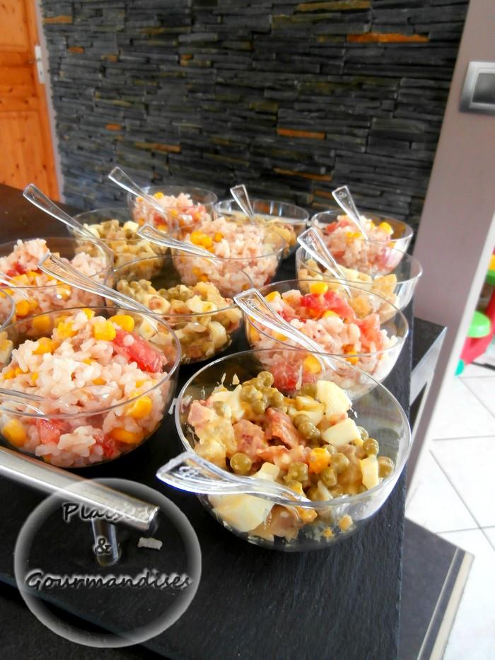Verrine de salade de riz et pomme de terre dans Verrines p7230108