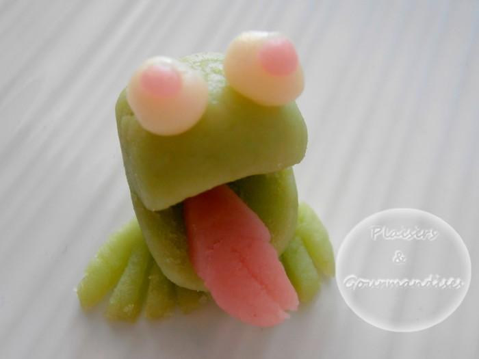 une grenouille en p 226 te d amande 183 plaisir et gourmandises