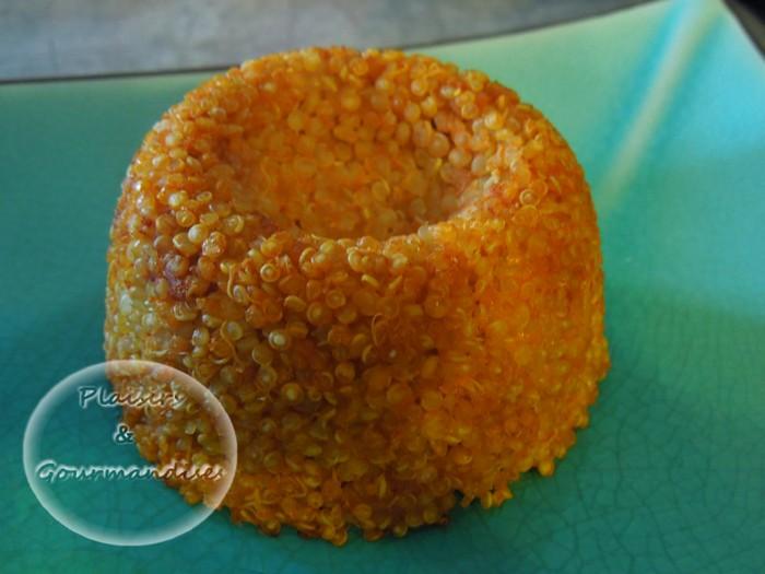Dôme de Quinoa à la tomate et au rochebaron dans Empreintes Dôme savarin dscn1550